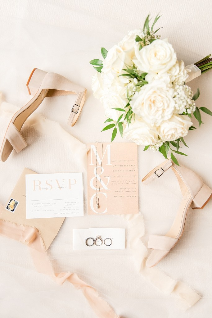 wedding stationery photographed by Renee Nicolo Photography
