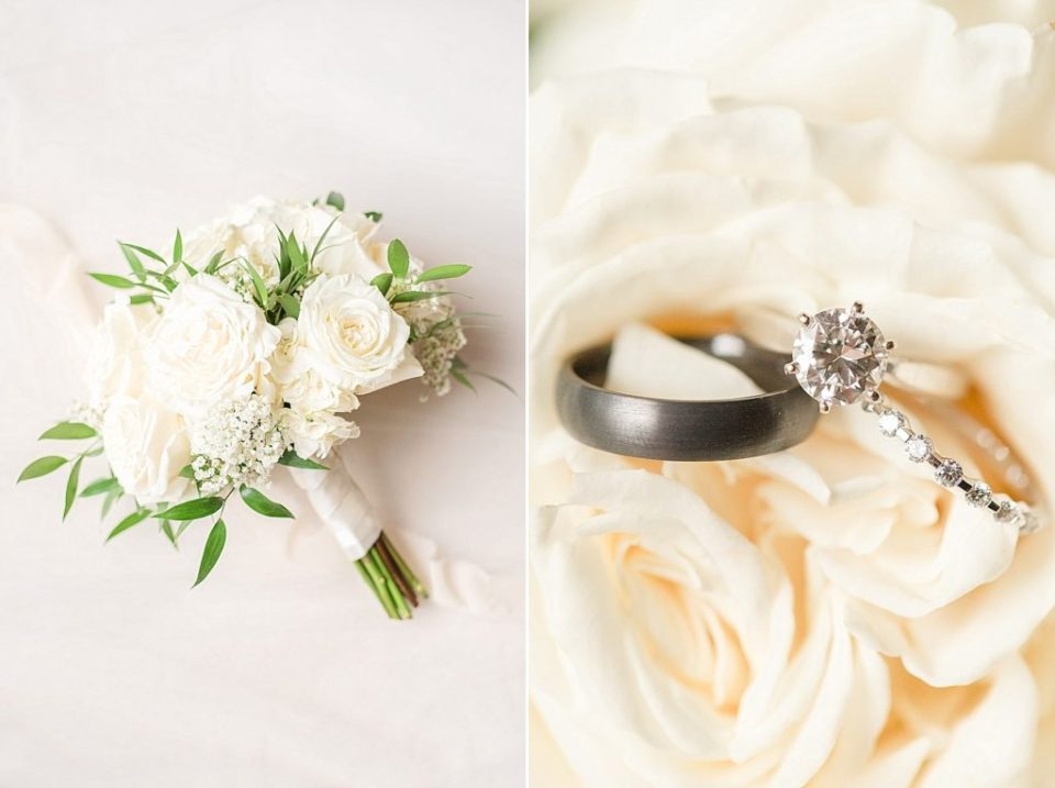 ivory wedding details photographed by Renee Nicolo Photography