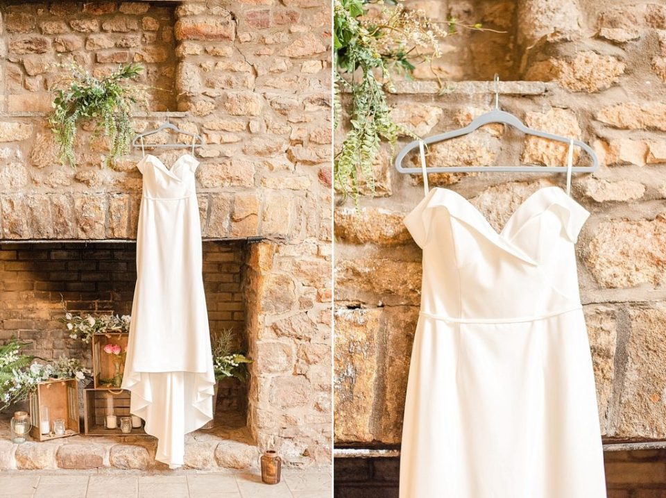 Lace & Liberty wedding gown photographed by Renee Nicolo Photography