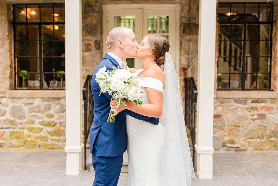 wedding first look with Renee Nicolo Photography