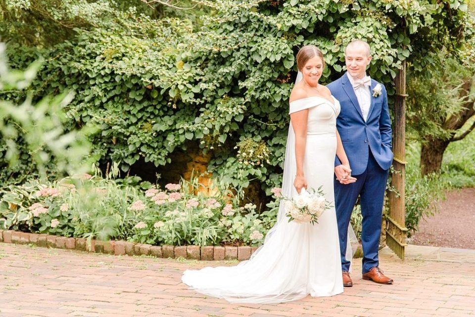 modern wedding dress photographed by Renee Nicolo Photography