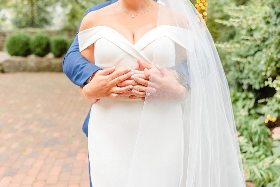 details of couple for wedding portraits with Renee Nicolo Photography