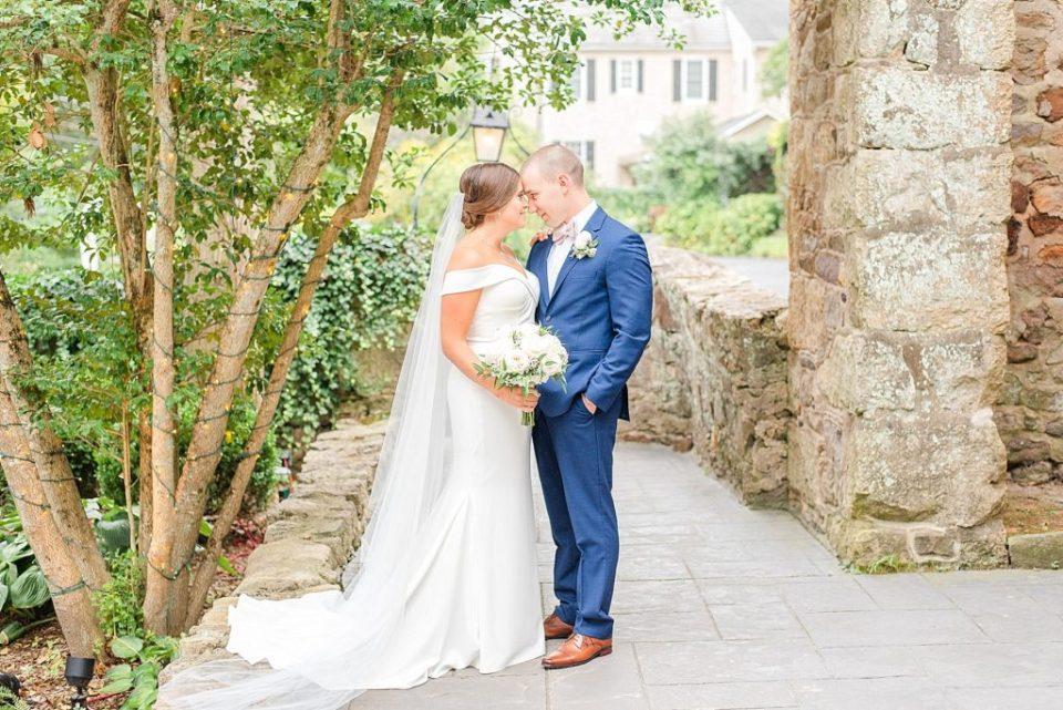 garden inspired wedding portraits with Renee Nicolo Photography