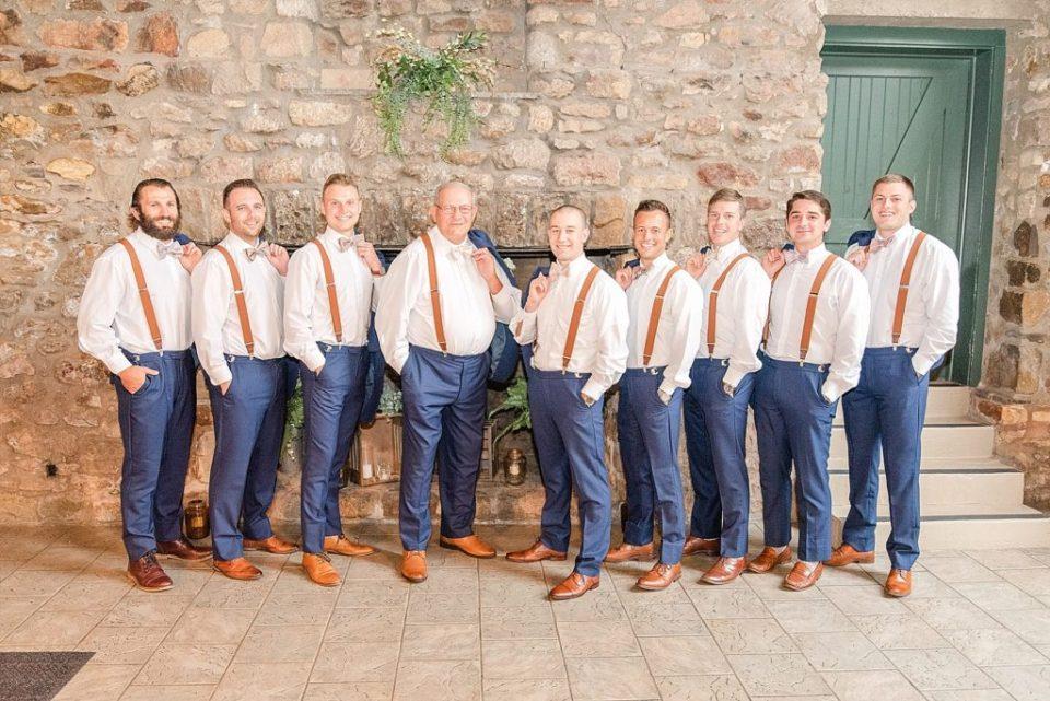 casual groomsmen portraits by Renee Nicolo Photography