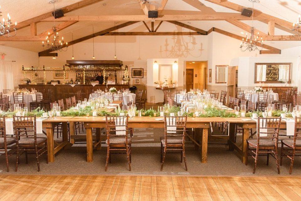 HollyHedge Estate wedding reception