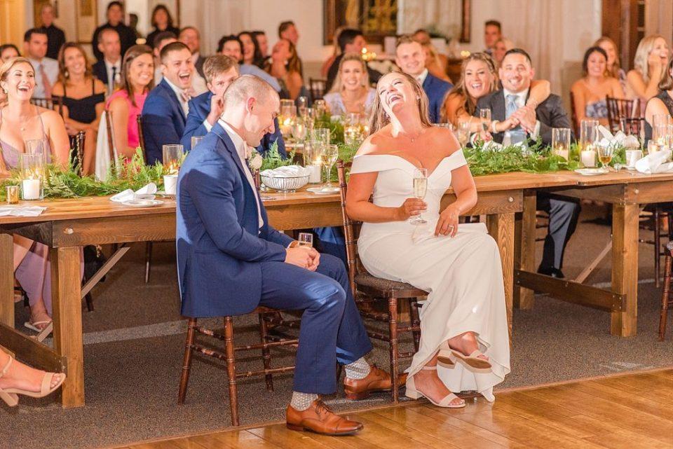 wedding toasts photographed by Renee Nicolo Photography