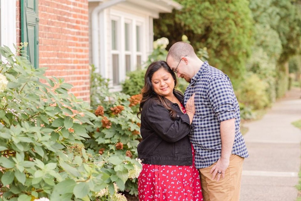 anniversary portraits in Doylestown with Renee Nicolo Photography