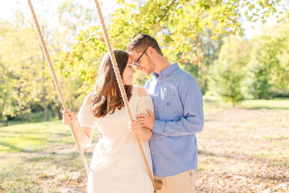 Historic Stonebrook farm engagement portraits by Renee Nicolo Photography