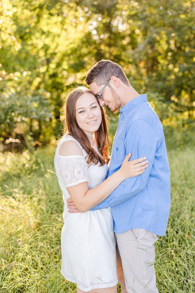 farm engagement session with Renee Nicolo Photography