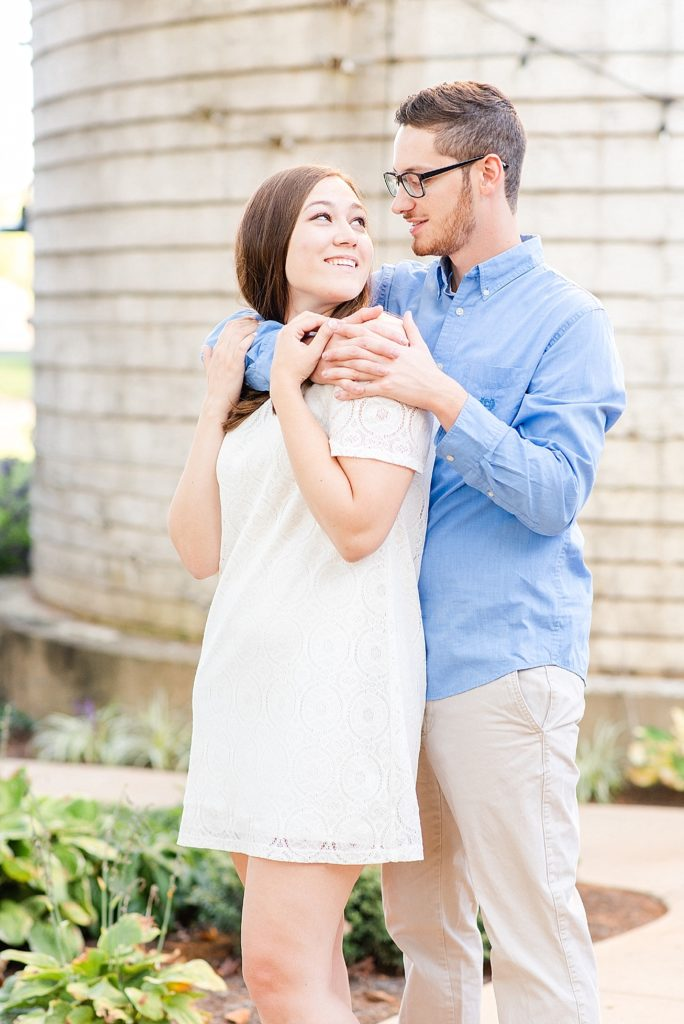 romantic PA engagement portraits with Renee Nicolo Photography
