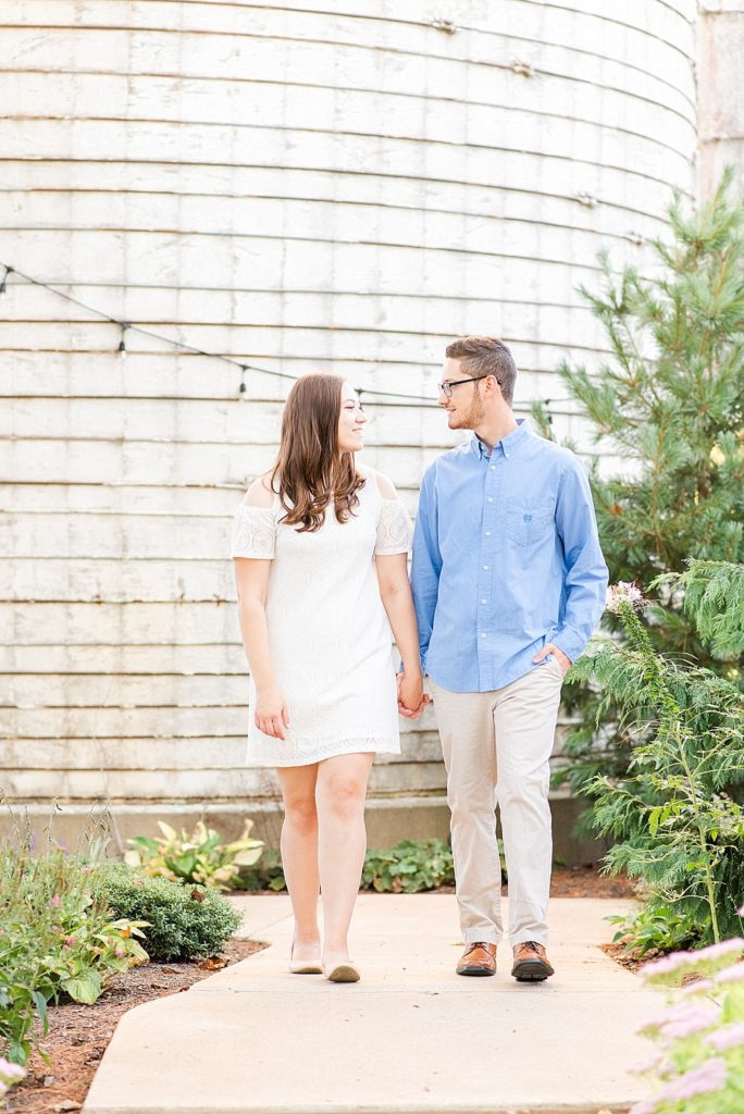 engagement session at Historic Stonebrook Farm with Renee Nicolo Photography