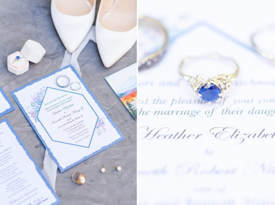 wedding day details photographed by Renee Nicolo Photography
