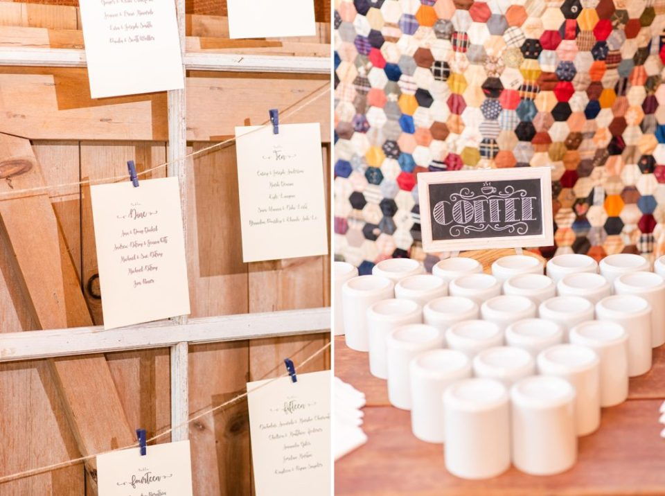 rustic wedding details photographed by Renee Nicolo Photography
