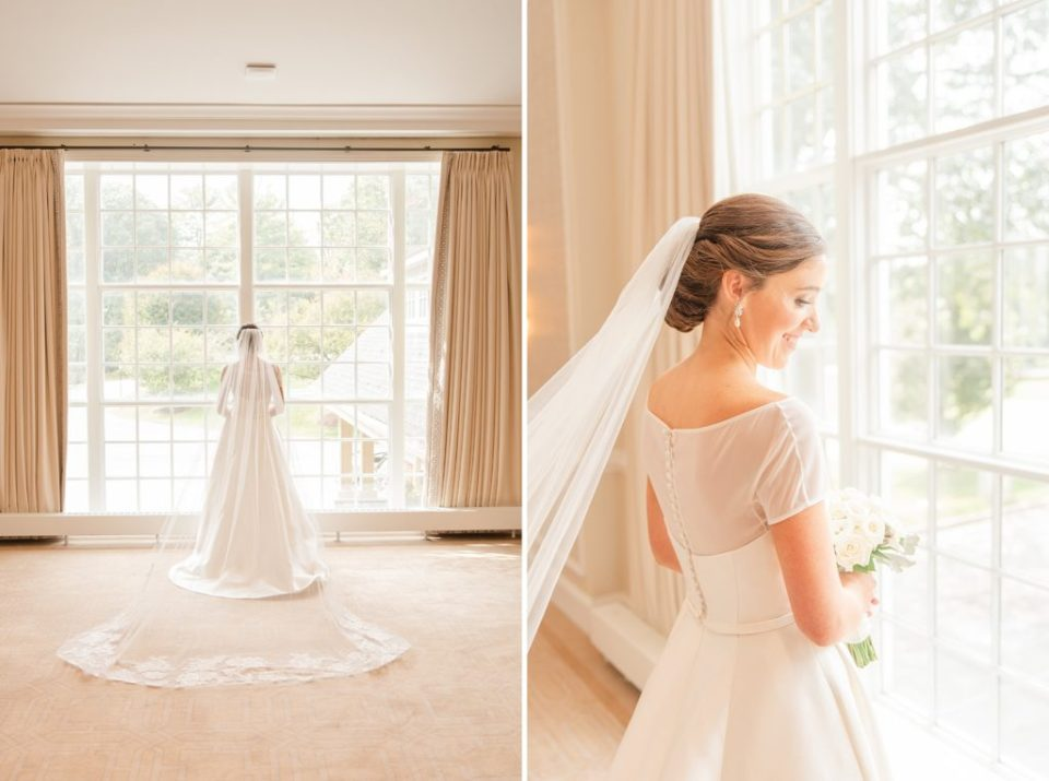 Whitemarsh Valley Country Club bridal portraits with Renee Nicolo Photography
