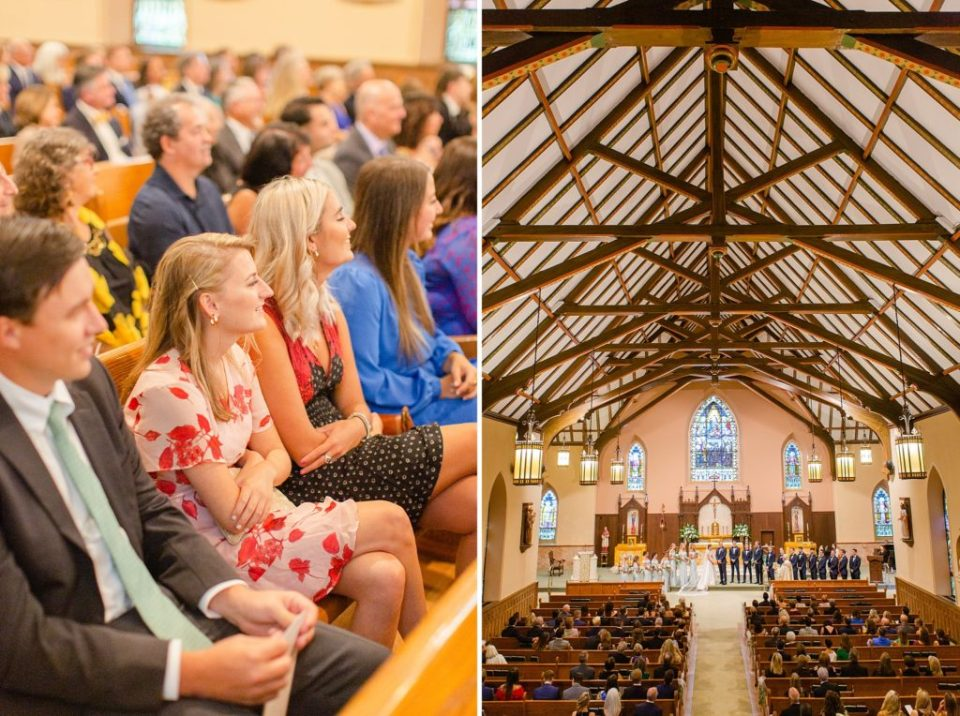 traditional church wedding photographed by Renee Nicolo Photography