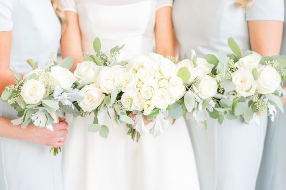 wedding flowers for September wedding photographed by Renee Nicolo Photography