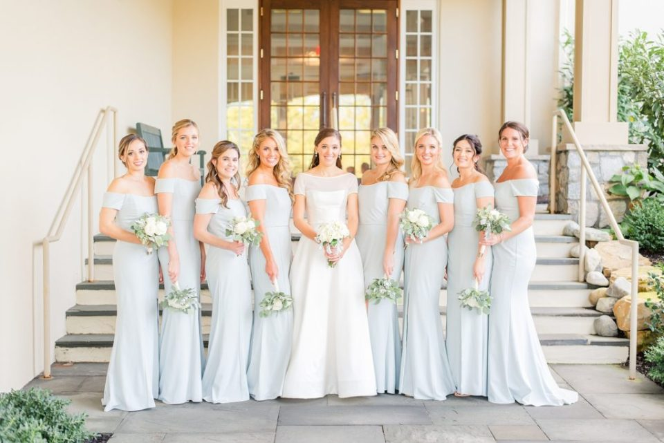 bridesmaid portraits with Renee Nicolo Photography