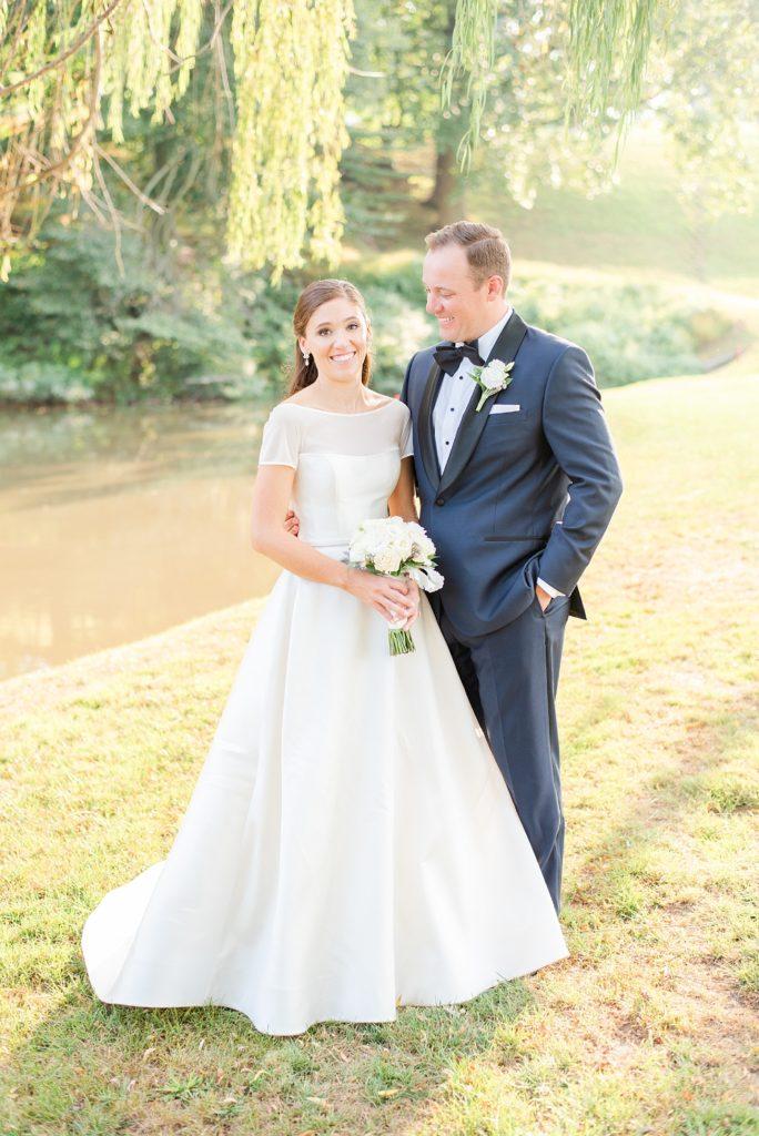 classic wedding portraits with PA wedding photographer Renee Nicolo Photography