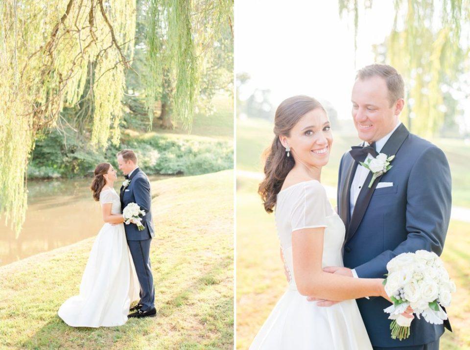 outdoor wedding portraits with Renee Nicolo Photography
