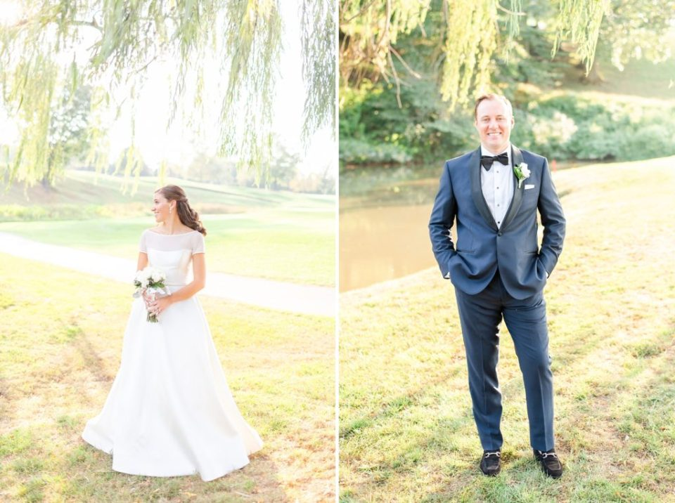 bride and groom portraits by Renee Nicolo Photography