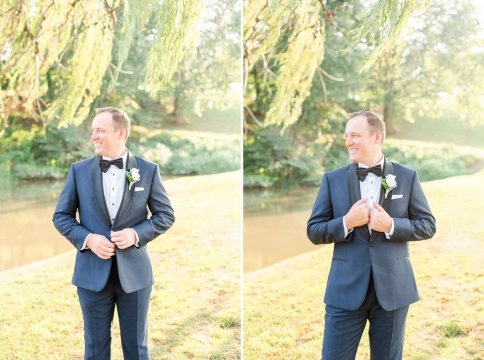 groom's attire for PA wedding day with Renee Nicolo Photography