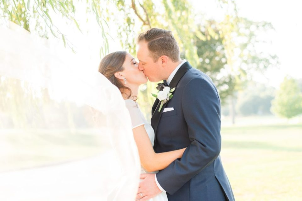 romantic Whitemarsh Valley Country Club wedding photos by Renee Nicolo Photography