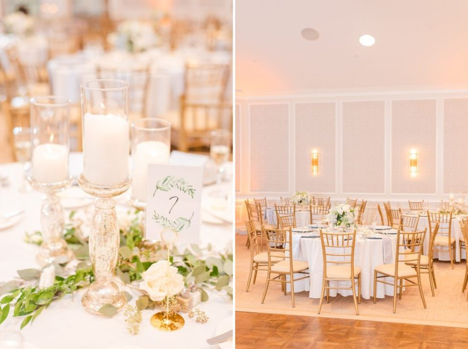 wedding centerpieces for PA wedding with Renee Nicolo Photography