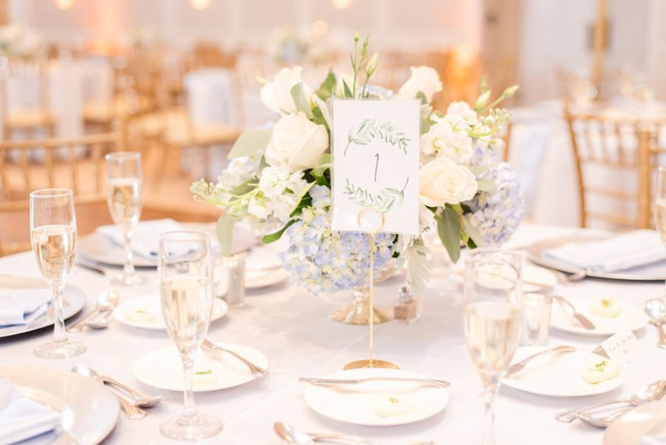 romantic wedding centerpieces photographed by Renee Nicolo Photography