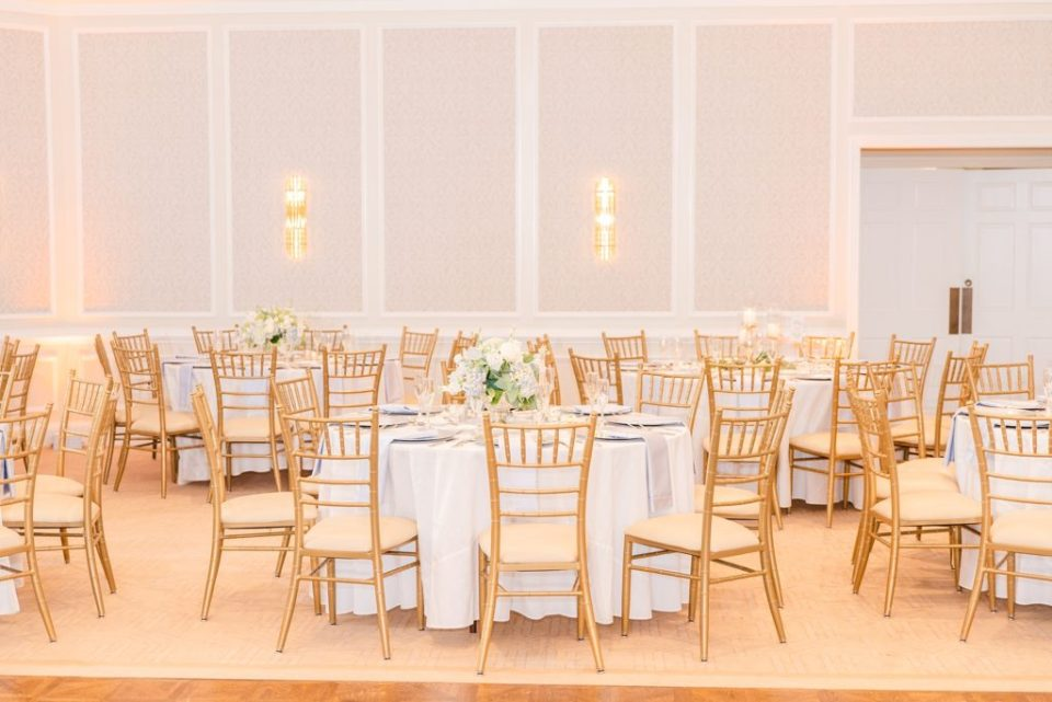 Whitemarsh Valley Country Club wedding reception photographed by Renee Nicolo Photography