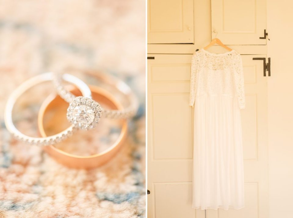 bride's details for PA wedding with Renee Nicolo Photography