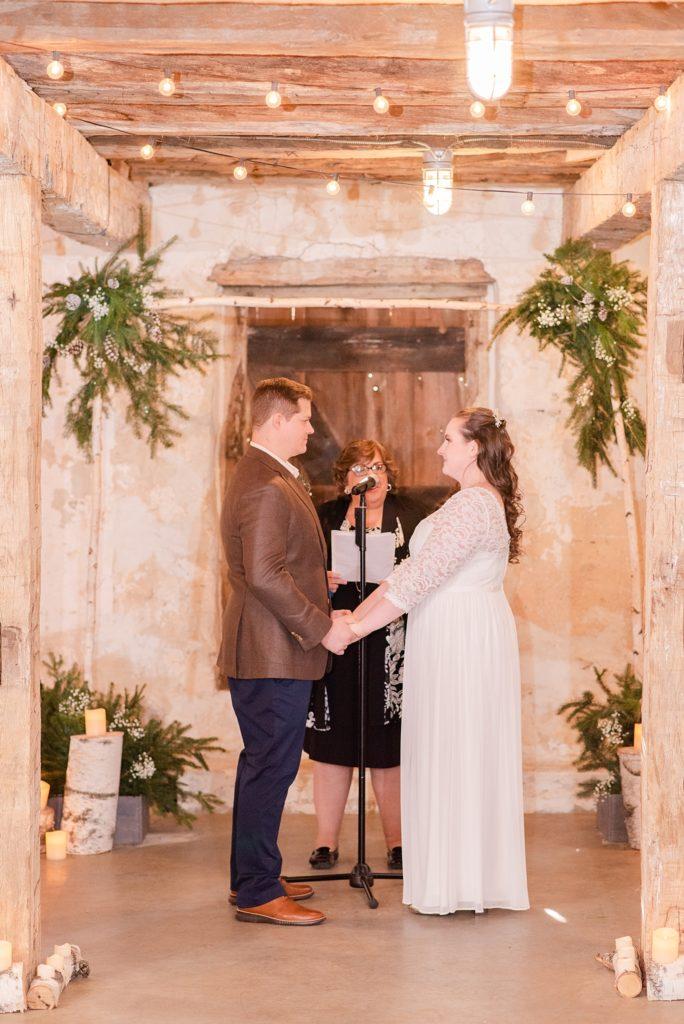 Renee Nicolo Photography photographs Duportail House wedding ceremony