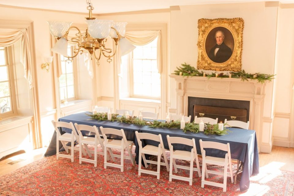 Duportail House wedding reception photographed by Renee Nicolo Photography