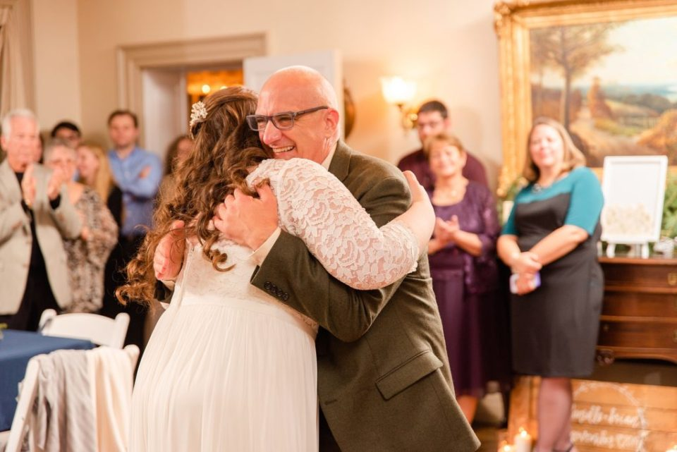 father-daugher dance photographed by Renee Nicolo Photography