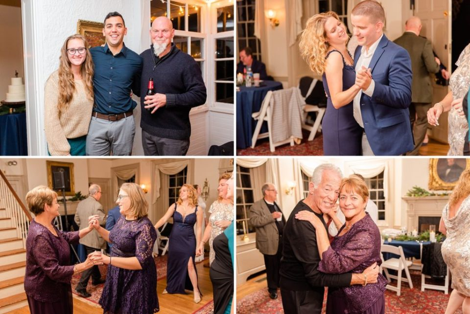 Duportail House wedding reception photographed by PA wedding photographer Renee Nicolo Photography