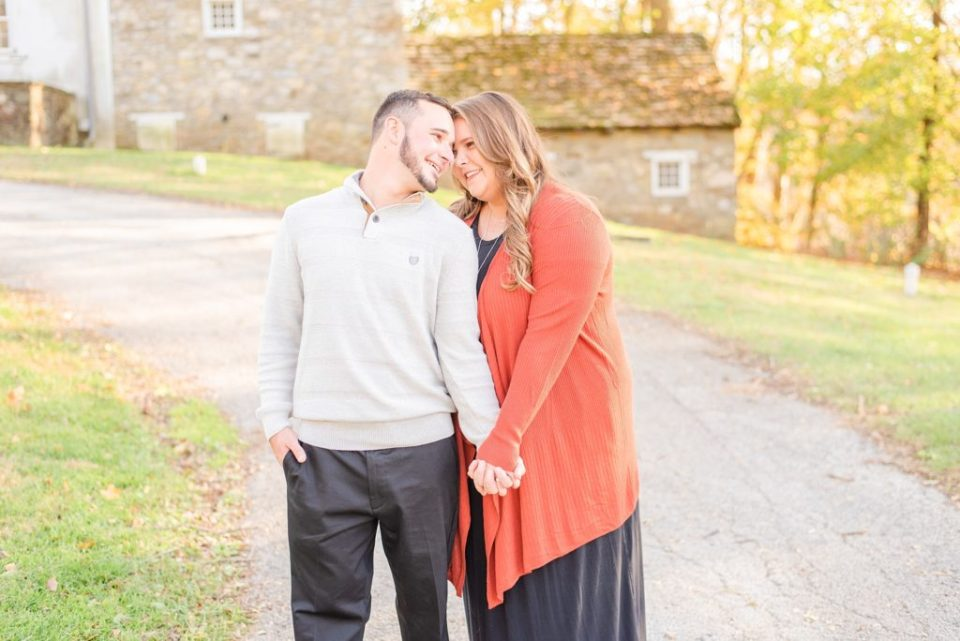 fall engagement photos by Renee Nicolo Photography