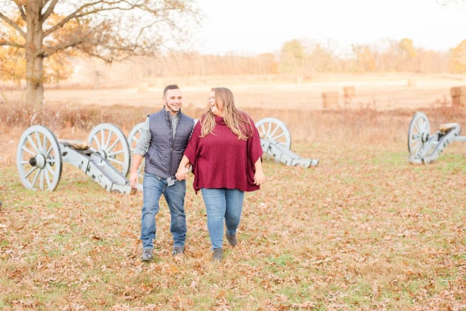 fall engagement photos by PA wedding photographer Renee Nicolo Photography