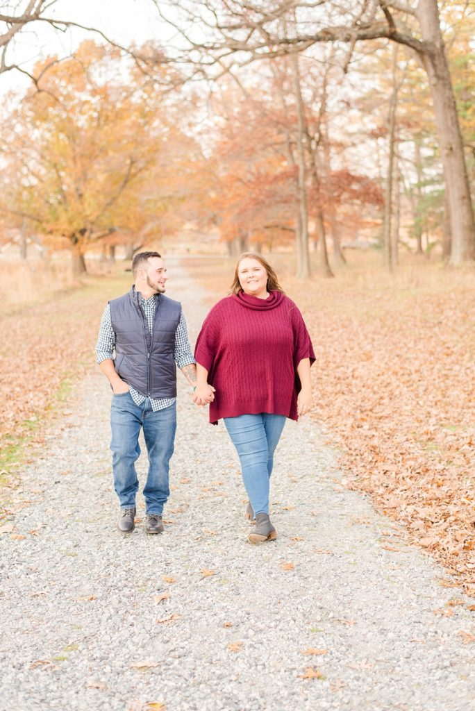 engagement photos with Renee Nicolo Photography