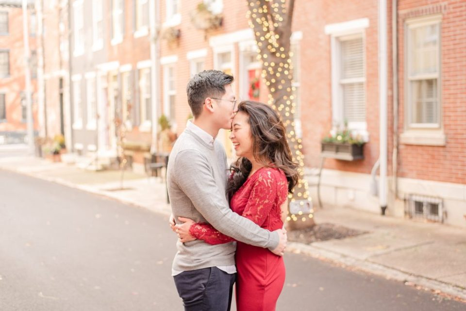 Renee Nicolo Photography captures winter engagement session