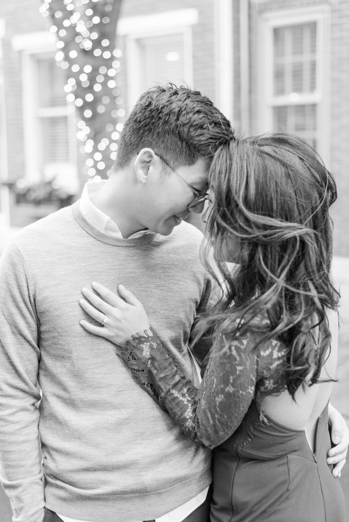 romantic engagement portraits in PA with Renee Nicolo Photography