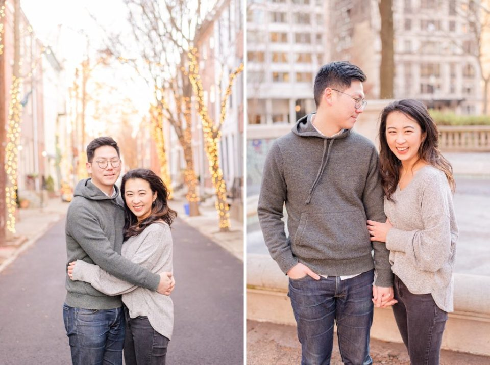 city engagement session by Renee Nicolo Photography