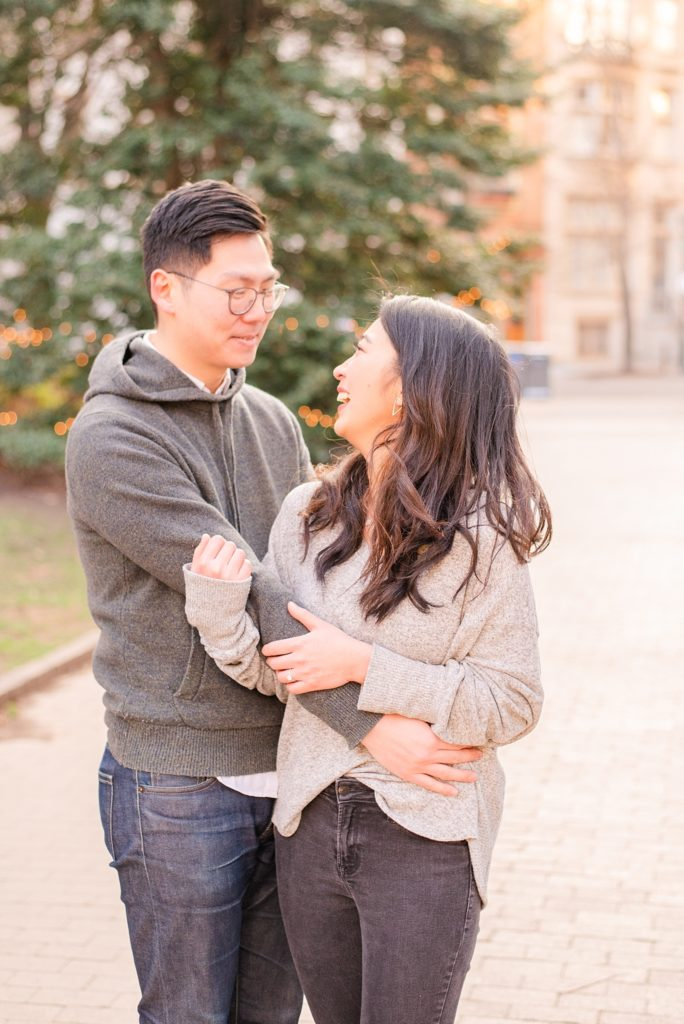 engagement photos in Philly with Renee Nicolo Photography