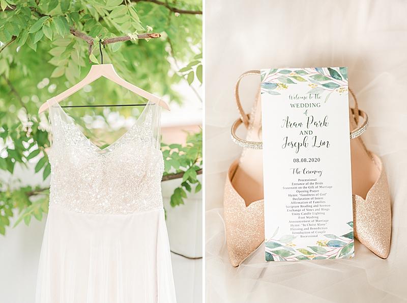 details for NJ backyard wedding