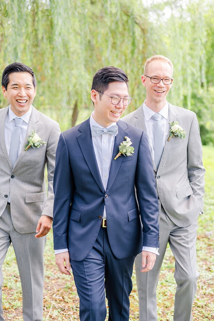 The Black Tux groom's attire
