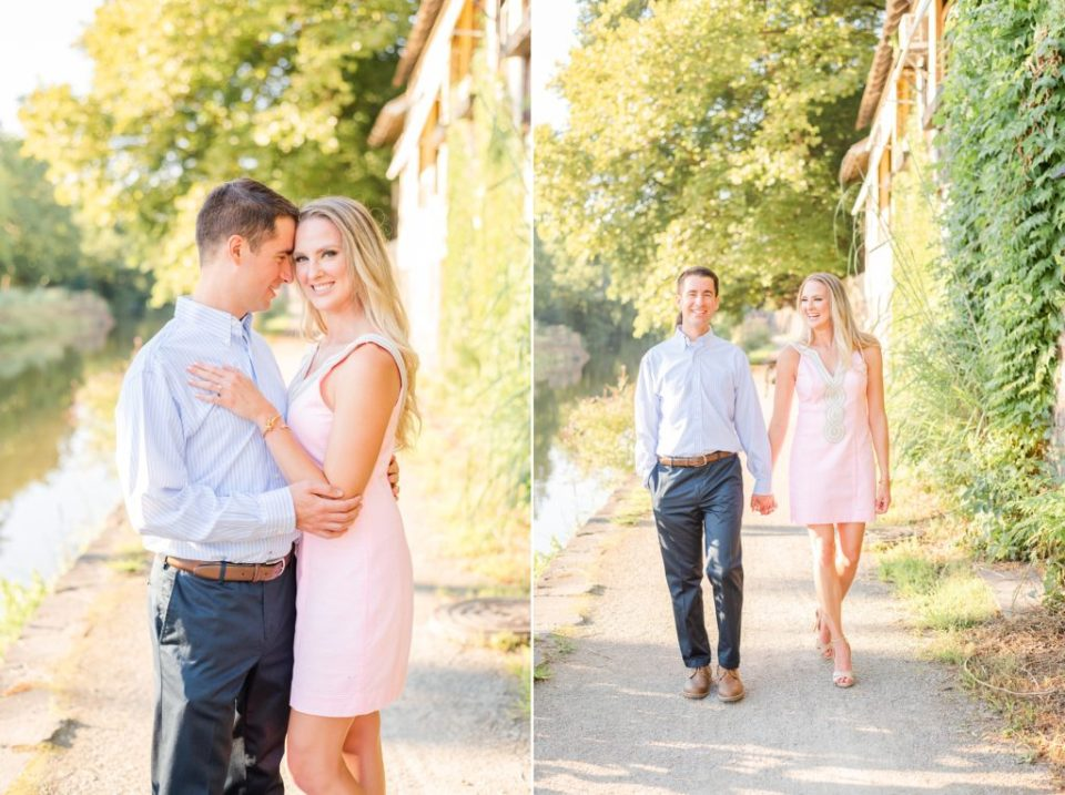 Pennsylvania engagement photos in the summer
