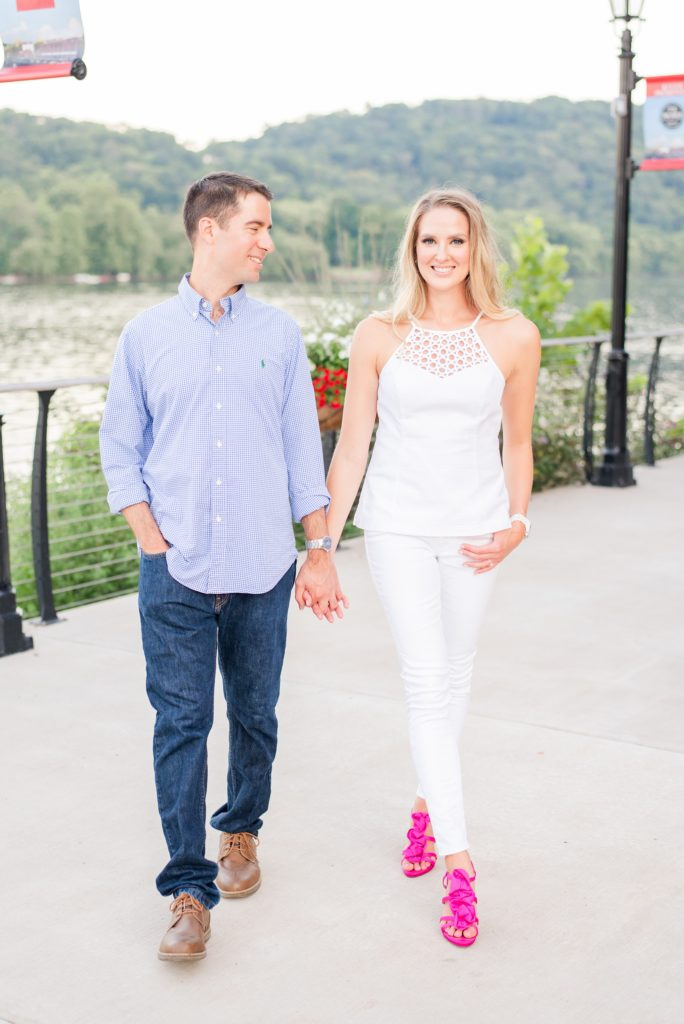 New Hope Engagement Session photographed by Renee Nicolo Photography