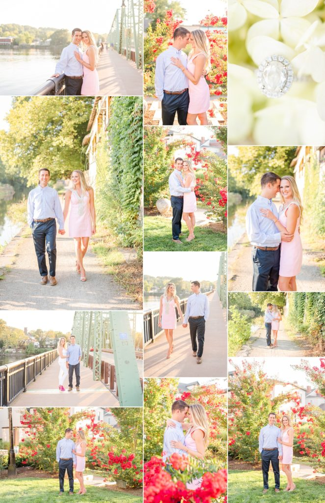 New Hope Engagement Session in the summer with Pennsylvania wedding photographer, Renee Nicolo Photography