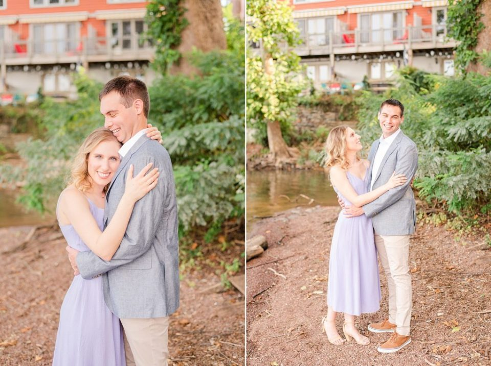 PA engagement portraits in New Hope