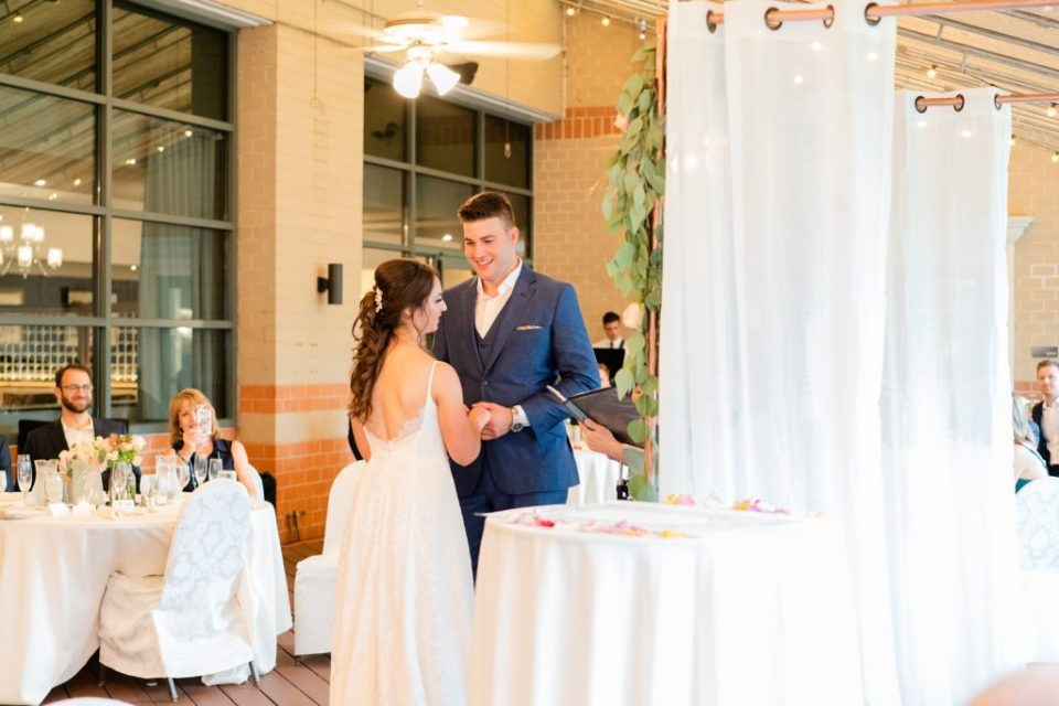 wedding ceremony in PA photographed by Renee Nicolo Photography