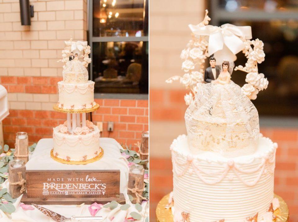 wedding cake by Bredenbeck's