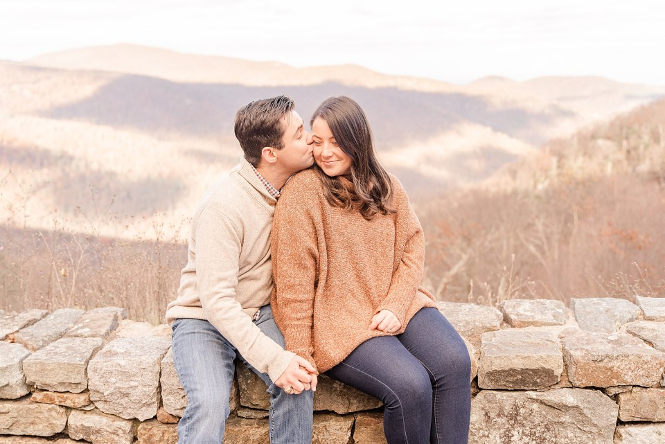 Shenandoah National Park engagement session in Virginia